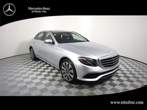 New 2018 Mercedes-Benz E-Class E 300 Luxury