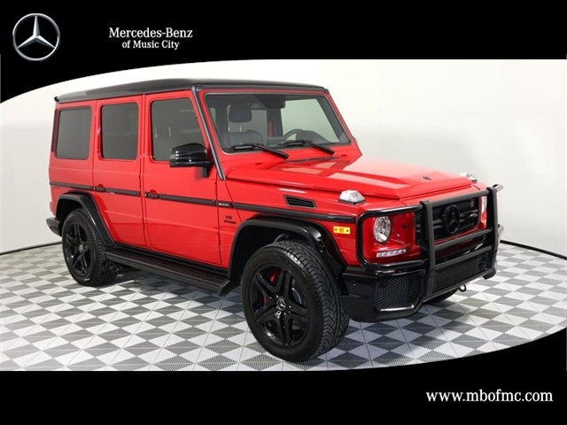 New 2017 mercedes benz g class amg g 63 suv suv in for 2017 mercedes benz g class msrp